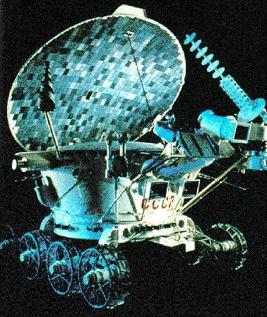Lunokhod 2 Lunar Rover Sent by the Soviet Union.