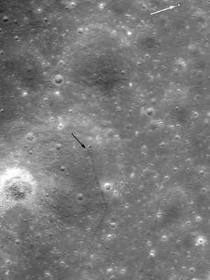 Lunar Rover Is Spotted