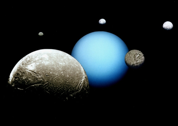 Uranus and five of it