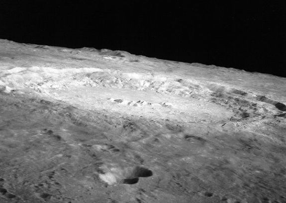 Copernicus crater taken by Apollo 12