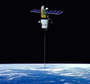 Tether satellite NASA