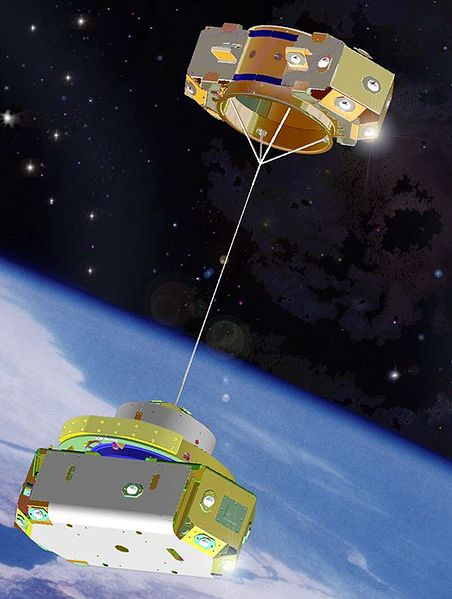 US Naval Research Laboratory's TiPS tether satellite