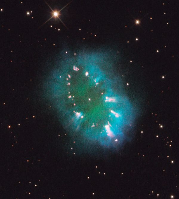 Necklace Nebula from Hubble Telescope