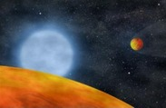Astronomers Discover Deep-Fried Planets: Two Earth-Sized Planets Around Dying Star That Has Passed the Red Giant Stage