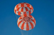 NASA Conducts Orion Parachute Testing for Orbital Test Flight