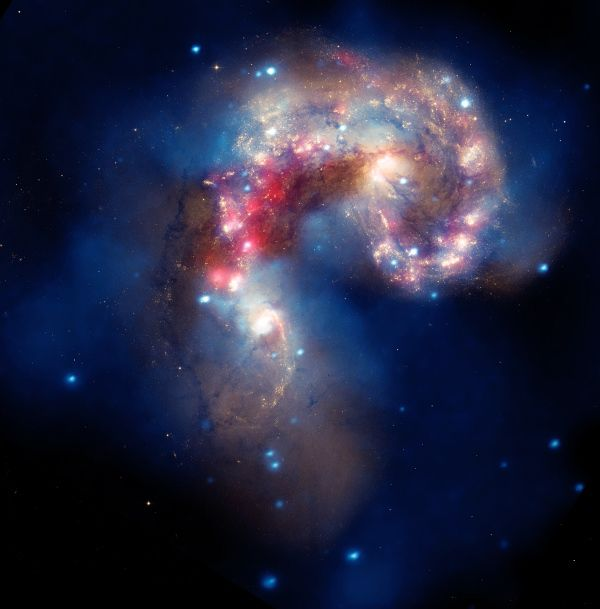 Antennae-Galaxies
