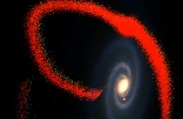Beast With Four Tails: Milky Way Devouring Neighboring Dwarf Galaxies