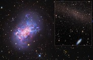 New Image Captures 'Stealth Merger' of Dwarf Galaxies