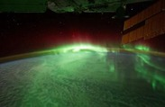 Flying Through a Geomagnetic Storm