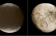 Clues to 'Weird' Saturn Moon Found in Earth's Ice