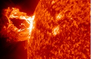 Spectacular Solar Flare Erupts From the Sun
