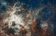 Panoramic View of a Turbulent Star-Making Region