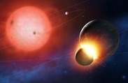 Four White Dwarf Stars Caught in the Act of Consuming 'Earth-Like' Exoplanets