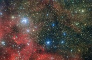 Spectacular Star Cluster a Wing-Span Away from Eagle Nebula