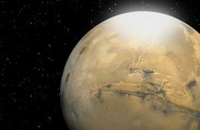 Mars Weather Report: Size of Particles in Martian Clouds of Carbon Dioxide Snow Calculated