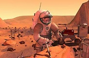 Funding humans to Mars