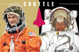 Evolution of the spacesuit infographic