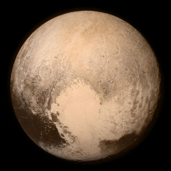 Pluto New Horizons 13 July 2015