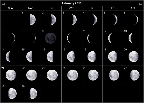 red moon phase calendar 2018 - photo #15
