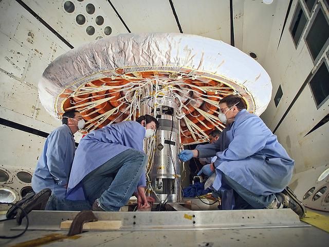 NASA Heat Shield Technology. Photo by NASA Goddard Space Flight Center. License: CC BY 2.0.