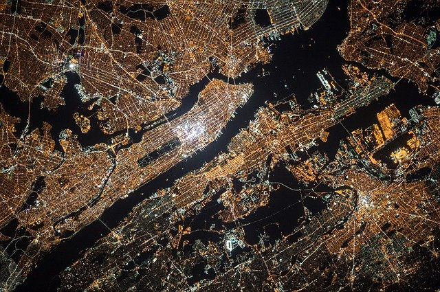New York City Satellite Photo