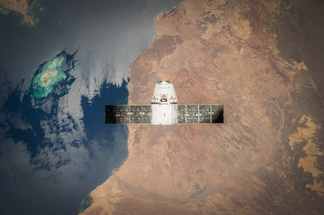 Spacex Satellite Earth